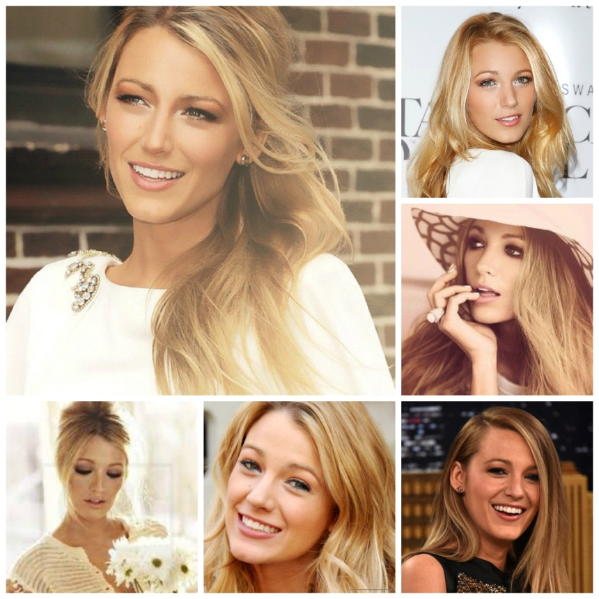 Blake Lively Collage