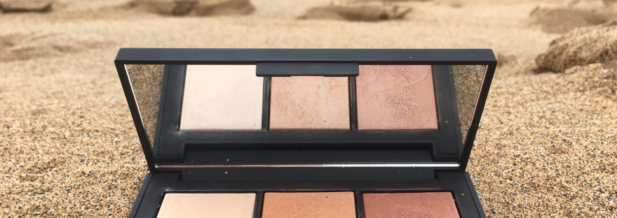 nars banc de sable highlighter palette review and. Black Bedroom Furniture Sets. Home Design Ideas