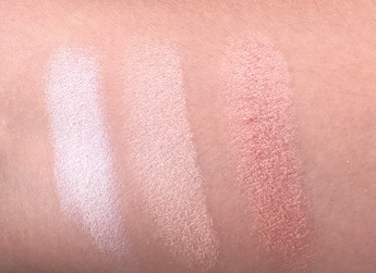 Dry Swatches in Natural Lighting
