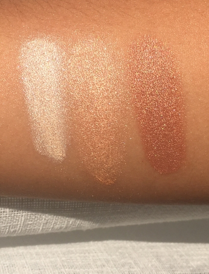Wet Swatches in Direct Sunlight