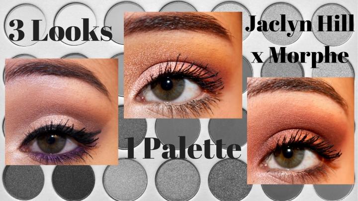 3 Looks, 1 Palette | Jaclyn Hill xMorphe