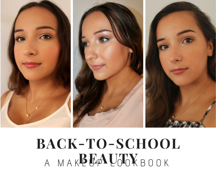 My Back-to-School Makeup Lookbook