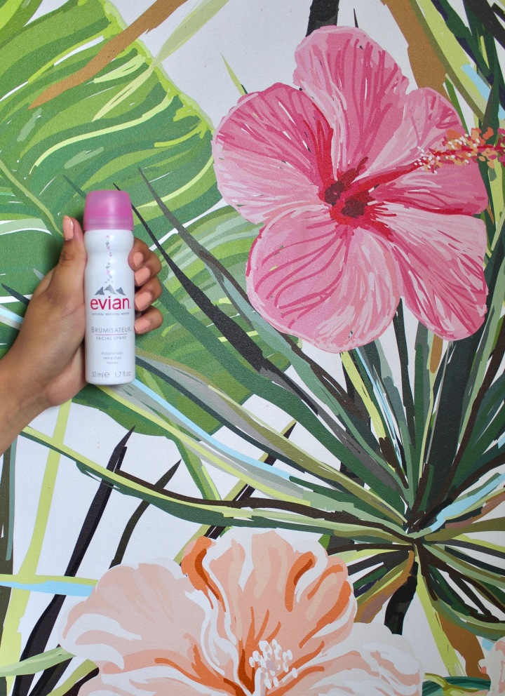 Stepping into Spring with Evian Facial Spray